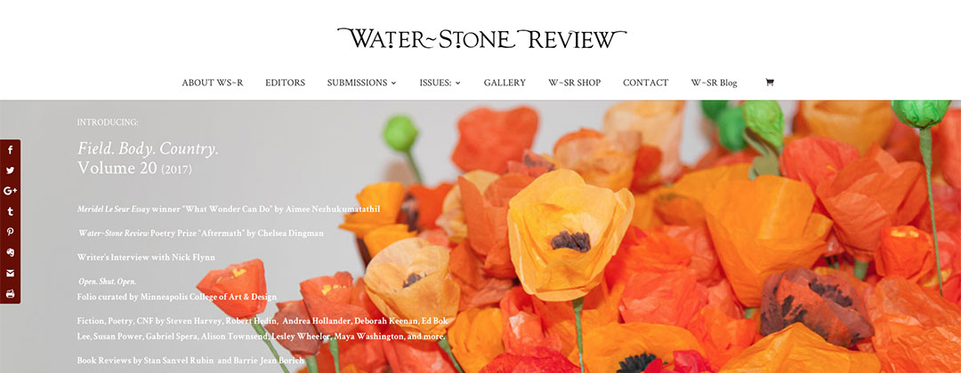 Water~Stone Review website