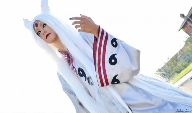 Ootsutsuki Kaguya cosplay by IzunaUchihaClan