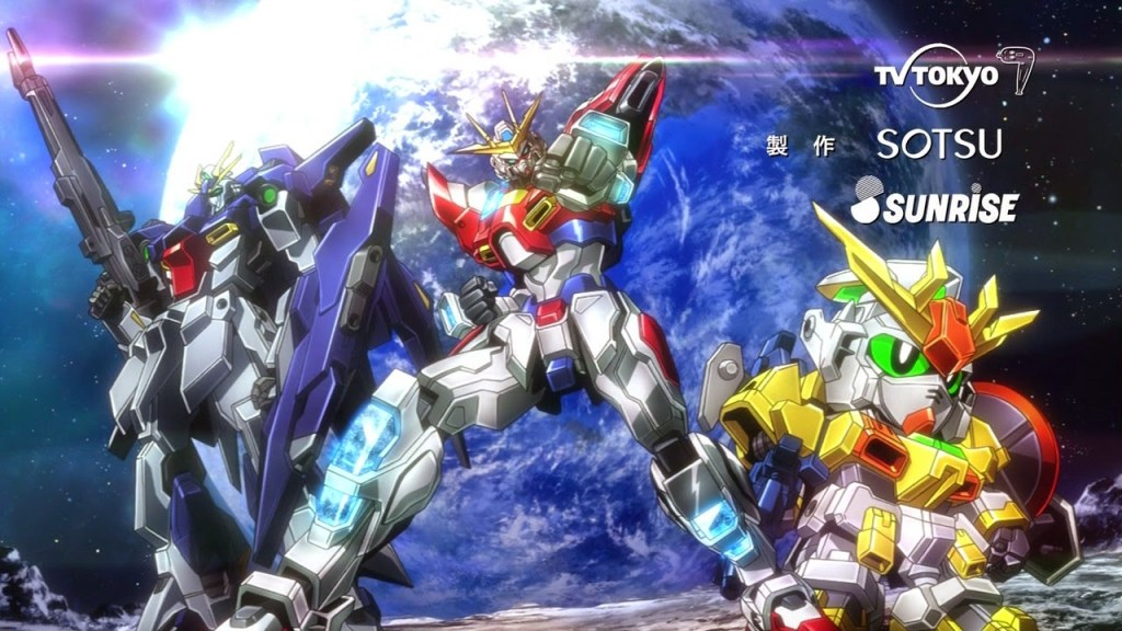 [ANIME] Gundam Build Fighters and Gundam Build Fighters Try get OVAs