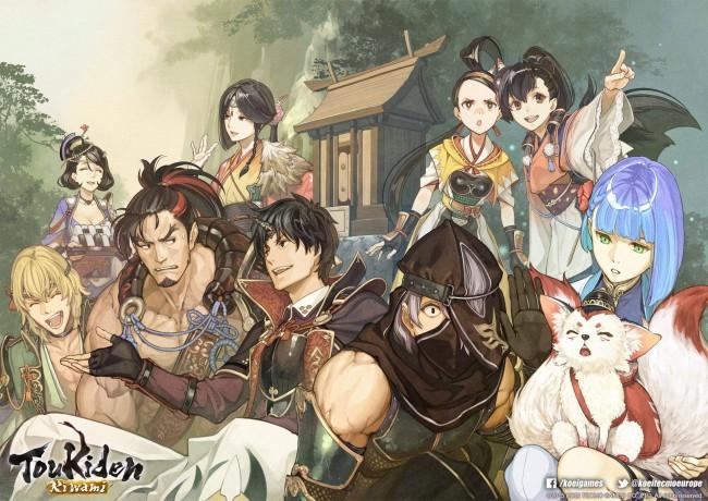 Toukiden Kiwami - Characters