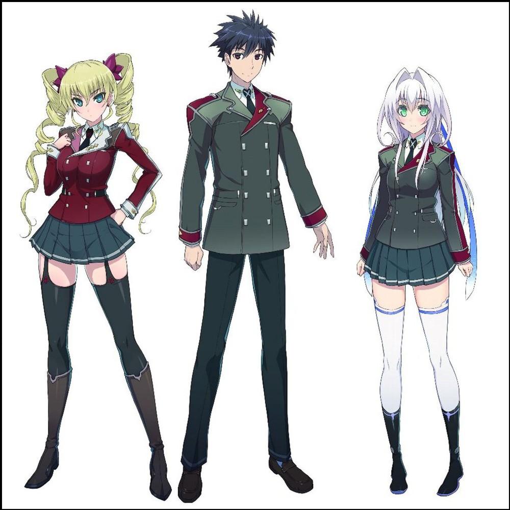[ANIME] School battle light novels, 'Hundred', gets anime adaptation and drama CD