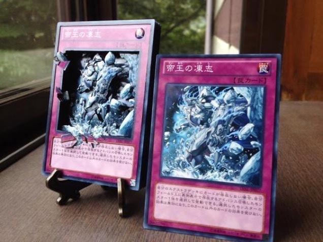[RANDOM] Fan creates wonderful 3D Yu-Gi-Oh! shadowbox cards