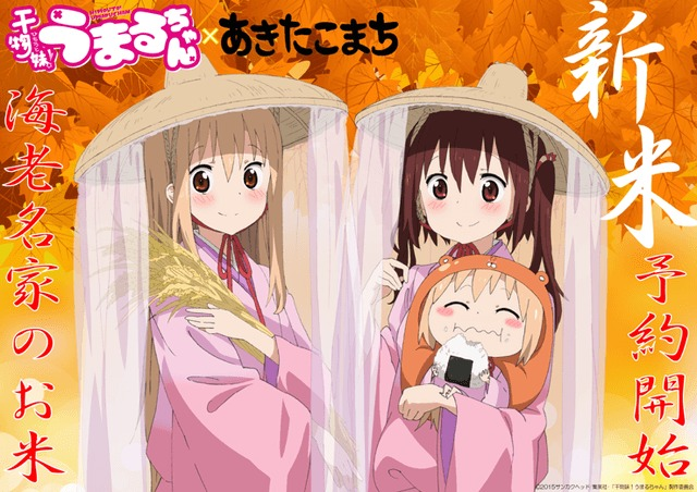 [FOOD] Get your own Himouto! Umaru-chan-themed bags of rice as anime celebrates the harvest season