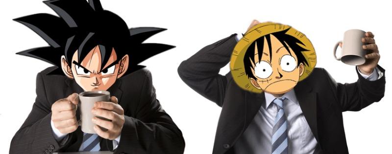 [MANGA] Dragon Ball's Toriyama and One Piece's Oda discuss not sleeping