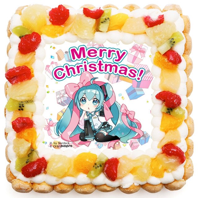 official Hatsune Miku birthday cake2