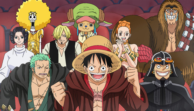 [ANIME] The Force is Strong with One Piece Film Gold as anime shows love for Star Wars