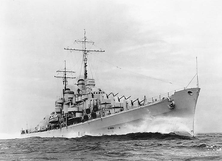 3 – USS Atlanta (Atlanta-class Light Cruiser)