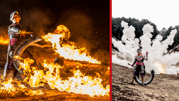 [COSPLAY] In Japan, You Can Now Have a Cosplay Shoot Complete with EXPLOSIONS!