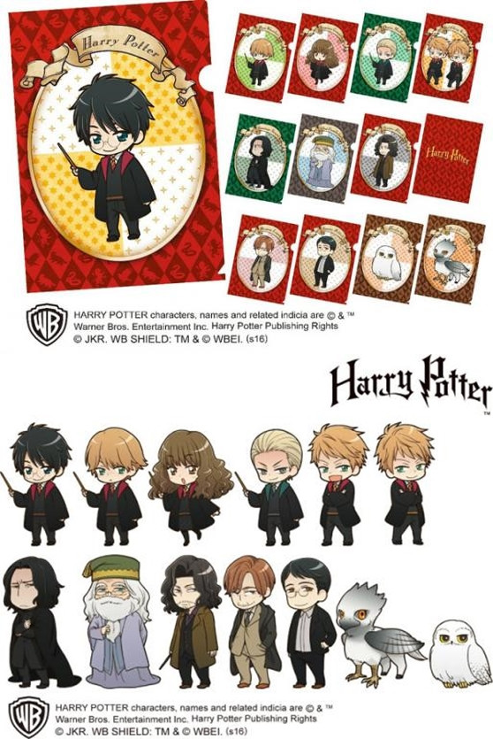 [LOOT] Harry Potter gets a chibi anime make-over thanks to Animate