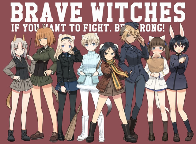 [ANIME] Brave Witches PV Confirms Release Date