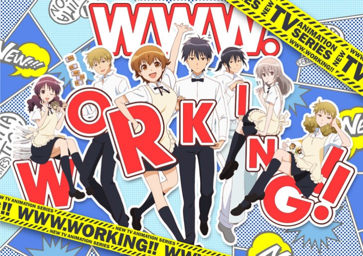 [ANIME] Working! spin-off manga, WWW.Working!! is getting a TV anime