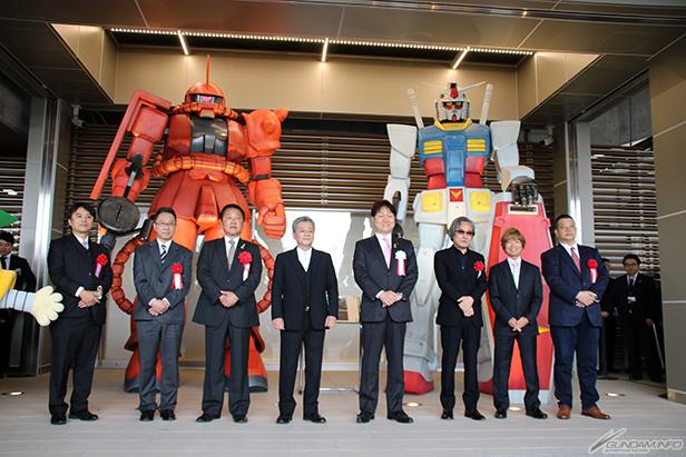 [JAPAN] Inagi City Unveiled RX-78-2 Gundam and Zaku II Statues to Honor Mecha Designer Kunio Okawara