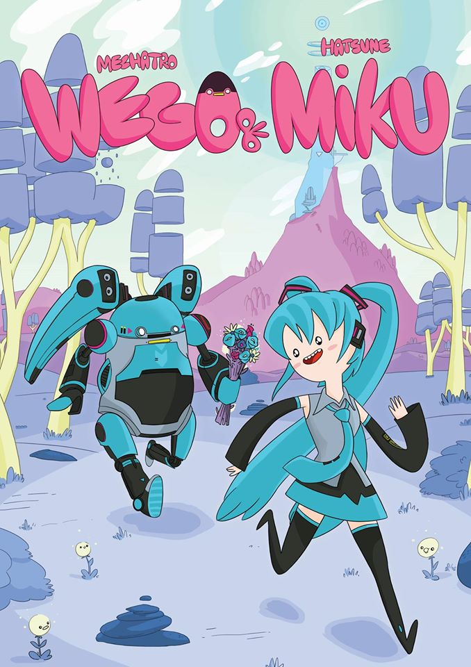 Studio behind Adventure Time Teams Up with Hatsune Miku and Mechatro WeGo for Special Plastic Model