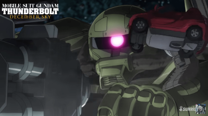 [ANIME] The first 7 Minutes of Mobile Suit Gundam Thunderbolt: December Sky
