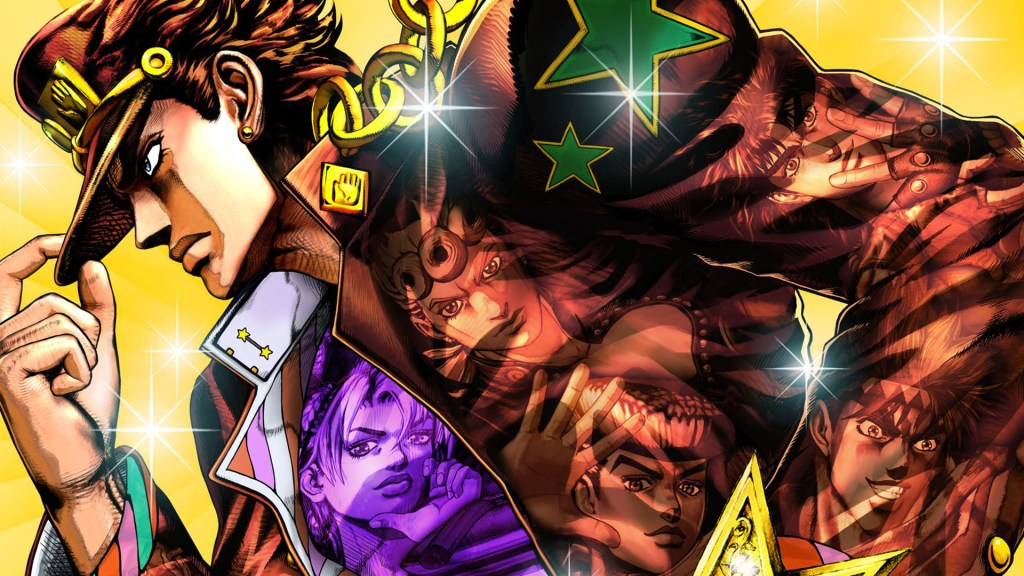 Jojo's Bizarre Adventure and former Megadeth guitarist team up to help Japanese learn English