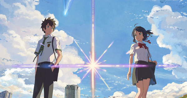 Makoto Shinkai's your name. is now the 5th highest grossing animated film of all time in Japan