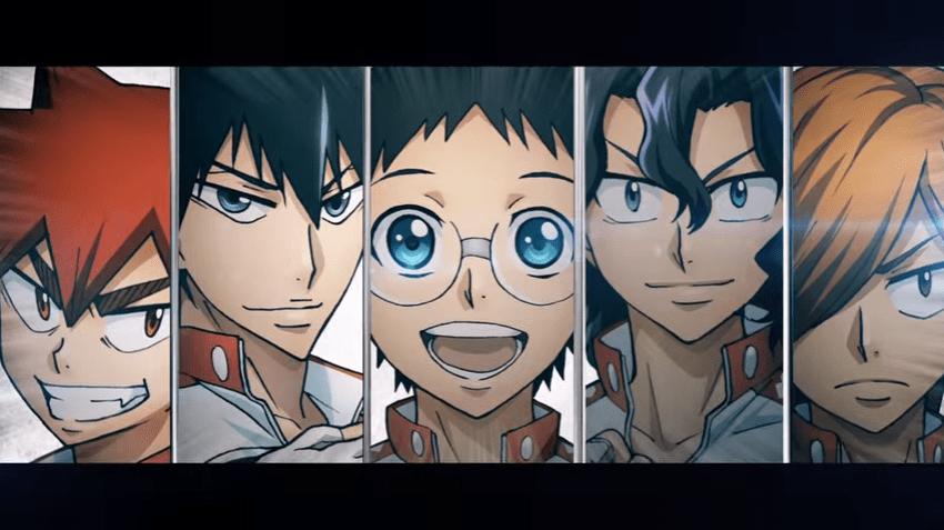 Team Sohoku Returns as Yowamushi Pedal: New Generation gets new PV