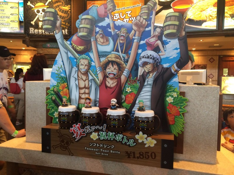 A look at Universal Studios Japan's Shonen Jump Exhibition