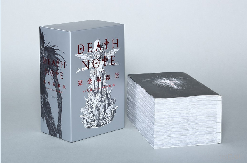 Death Note is getting one huge 2,400-page compilation manga