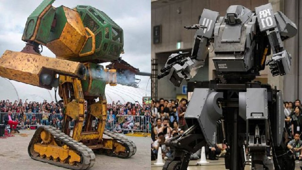 The Real-life Japan vs. USA giant robot fight is going to be televised in 2017