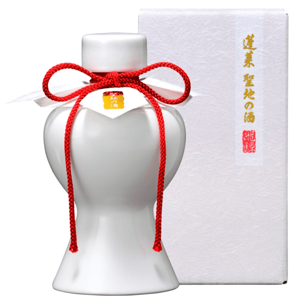 your name.-inspired Sake was blessed by priests from the shrine featured in the film