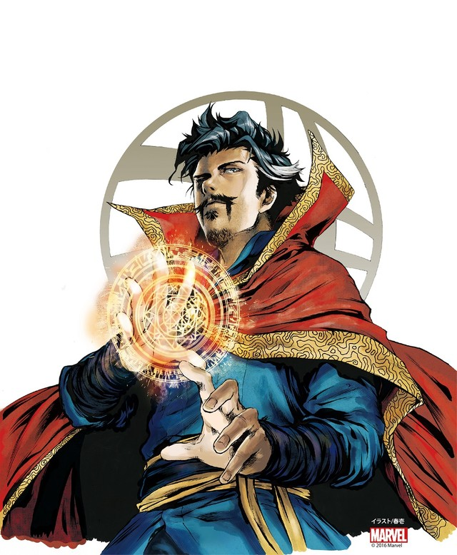 Marvel's Doctor Strange is getting a prequel manga in Japan