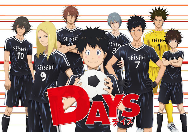 Football anime, DAYS, is getting a second season
