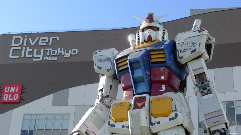 Bandai is tearing down the life-size Gundam in March 2017!