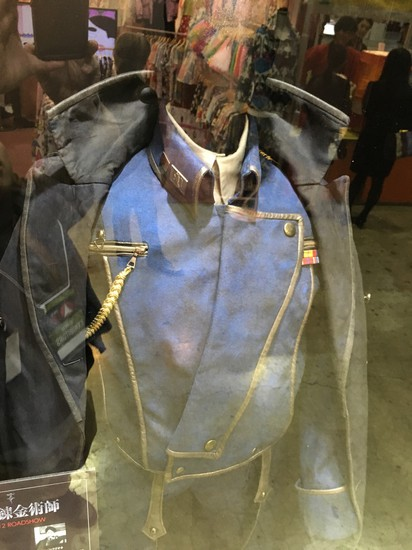 Roy Mustang's costume for live-action Full Metal Alchemist film featured at Tokyo Comic-con