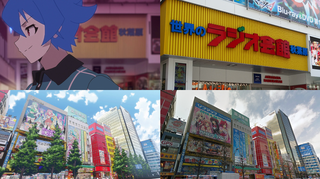 The real-life locations featured in Akiba's Trip the Animation revealed