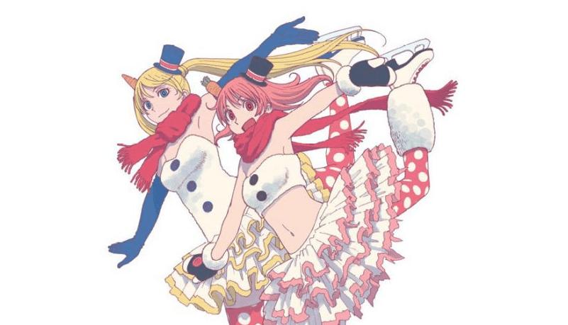 Yotsuba&! mangaka Kiyohiko Azuma illustrates Wonder Festival's Ice-Skating Mascots