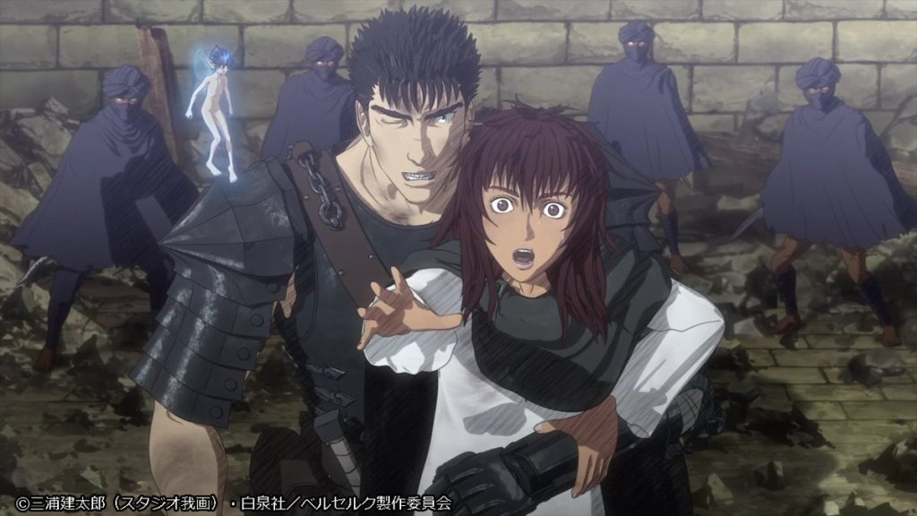 Latest Berserk TV anime reveals new visual and premiere date