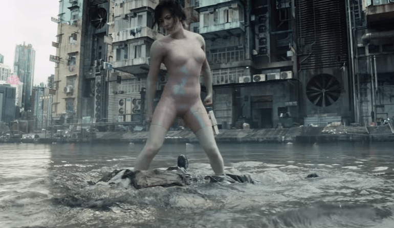 Live-action Ghost in the Shell film shows off action scenes in new video