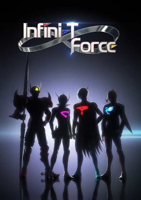 Four classic anime heroes team up for new cross-over anime, Infini-T Force