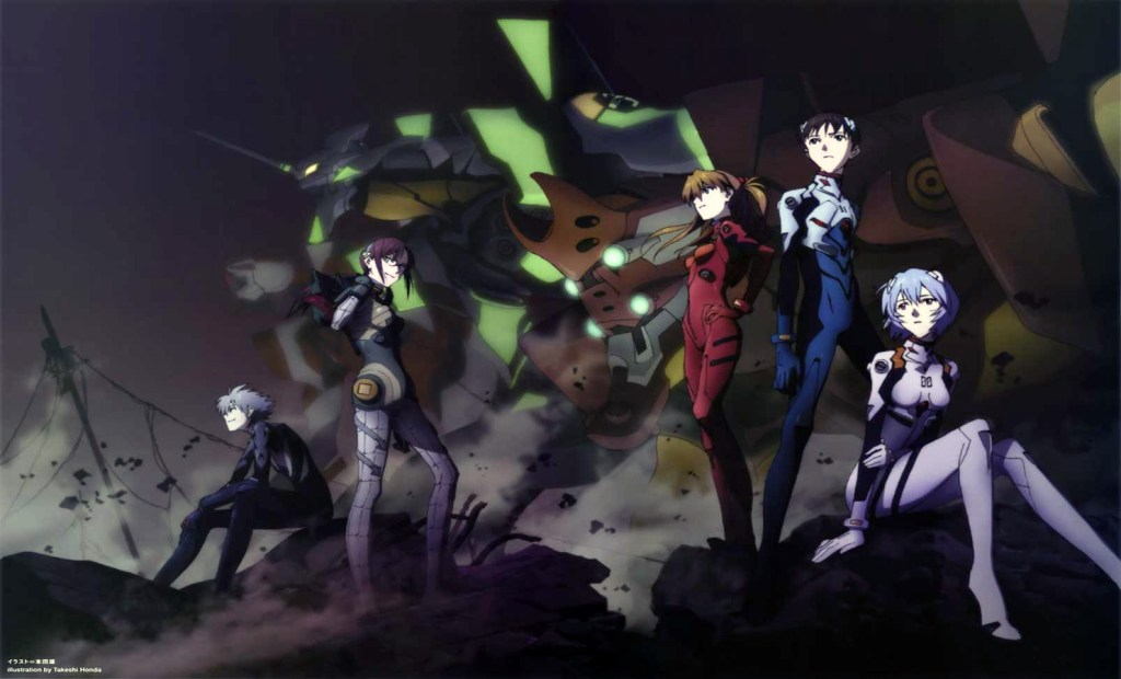 Next Rebuild of Evangelion anime now officially in production