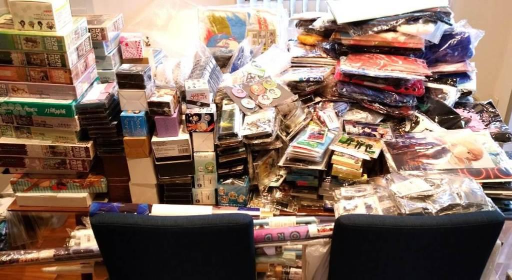 Accel World creator Reki Kawahara's home is covered in Sword Art Online merchandise