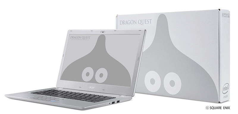 Dragon Quest's Metal Slime gets its own official laptop