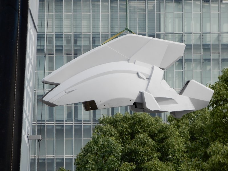 Construction on life-size Unicorn Gundam officially begins