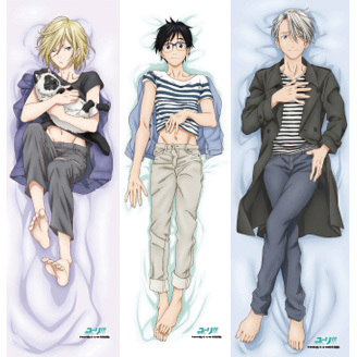 Sweet Dreams are Made of These Yuri!!! on Ice Dakimakura Covers!