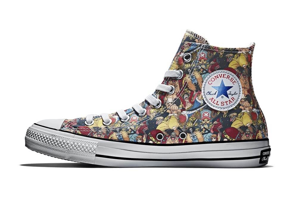 Converse also celebrates 100th anniversary with official One Piece Chuck Taylors
