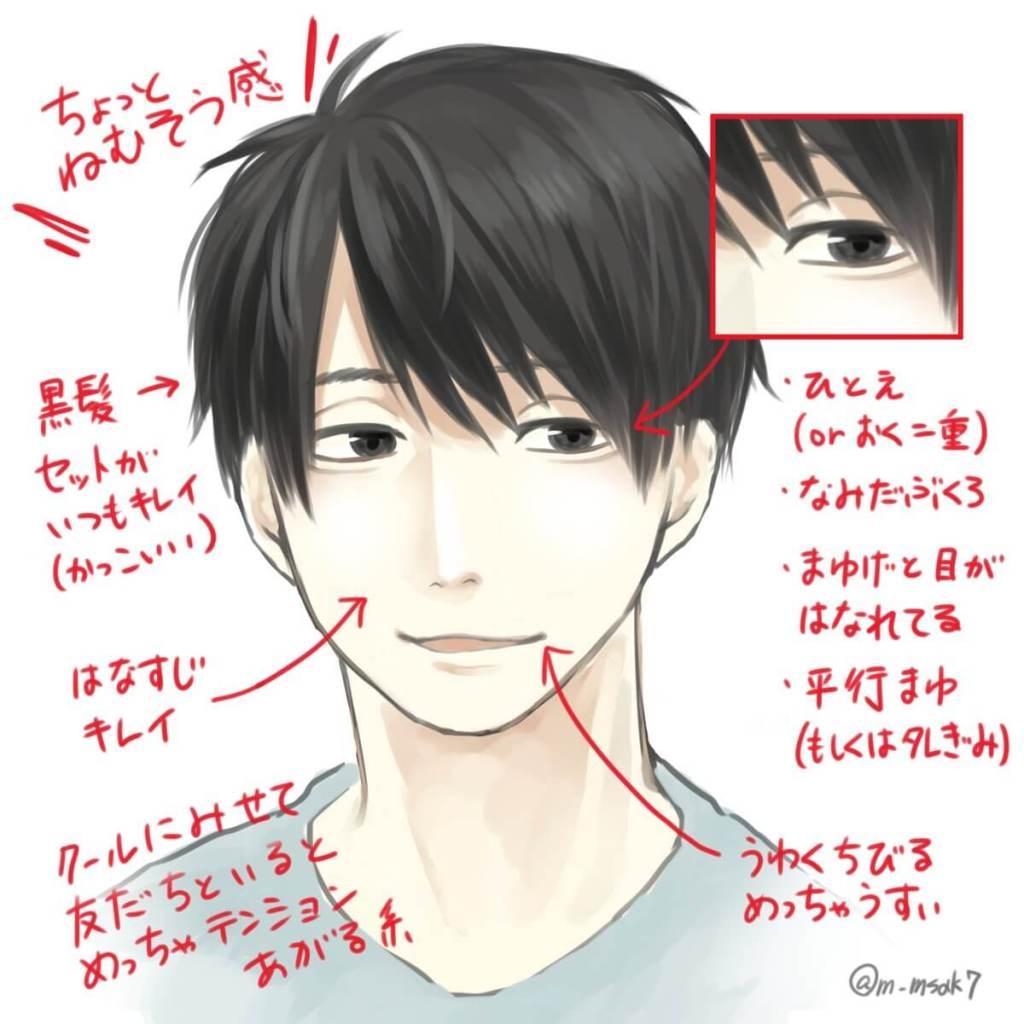Japanese illustrator describes what makes an Ikemen an Ikemen