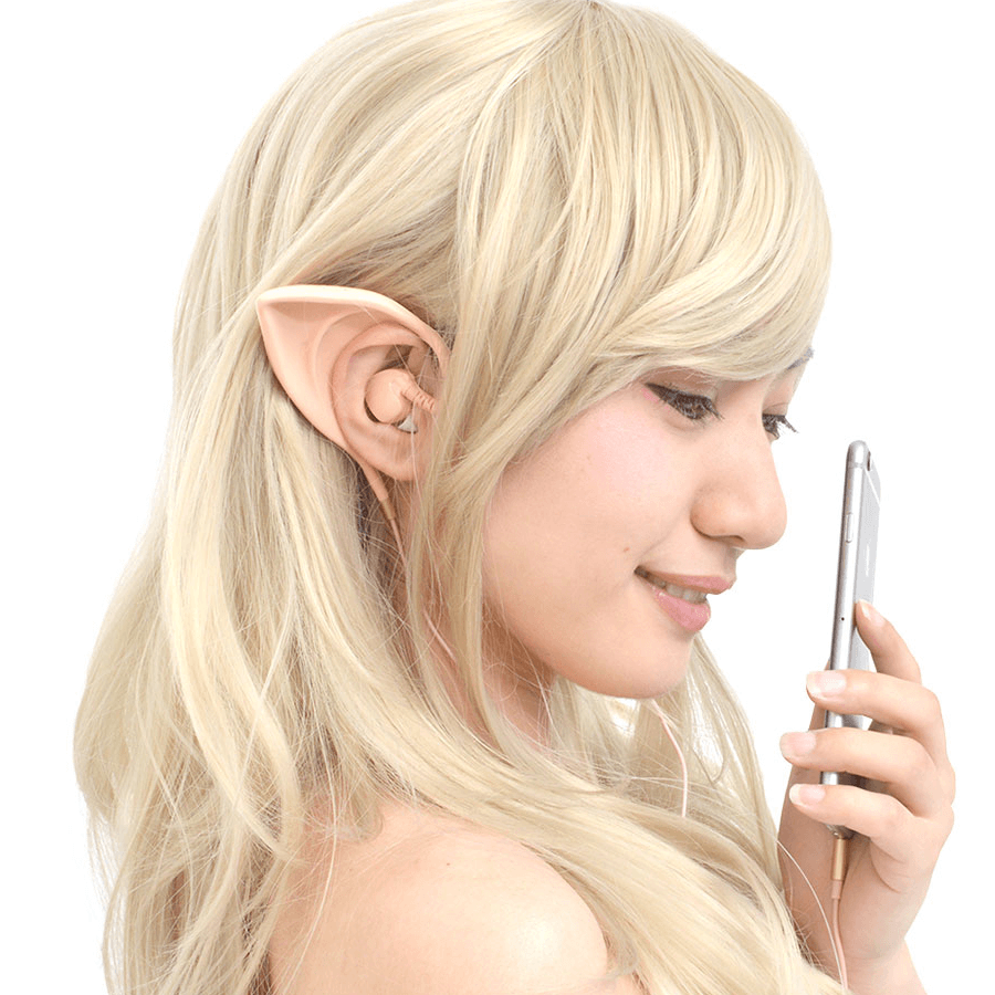 Listen to Tunes while Cosplaying with these Elf In-ear Phones!