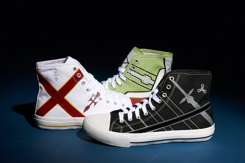Sword Art Online has some new kicks with their own official sneakers