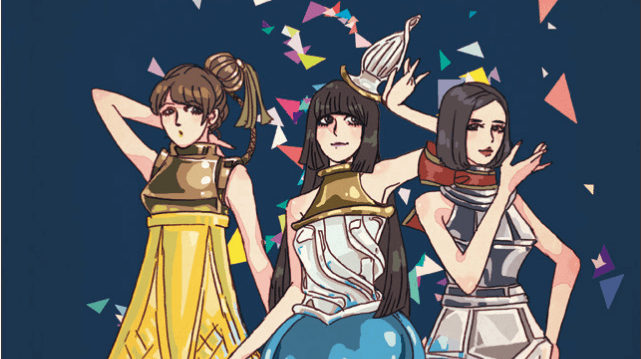 For new manga art, girl group Perfume gets turned into… Perfume