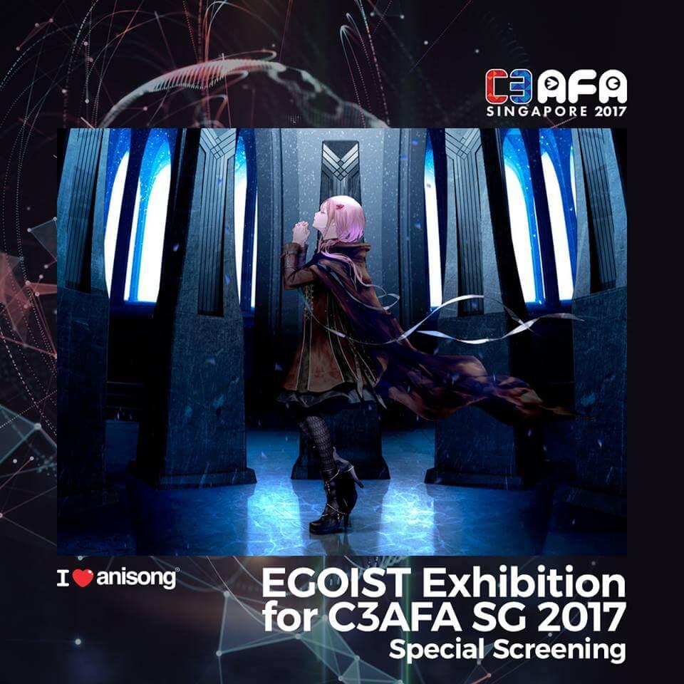 C3 AFA Singapore Rounds Up ILA Announcements with Special EGOIST Exhibition