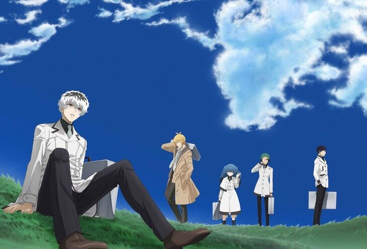 Sui Ishida's Tokyo Ghoul:Re manga gets adapted into a TV anime