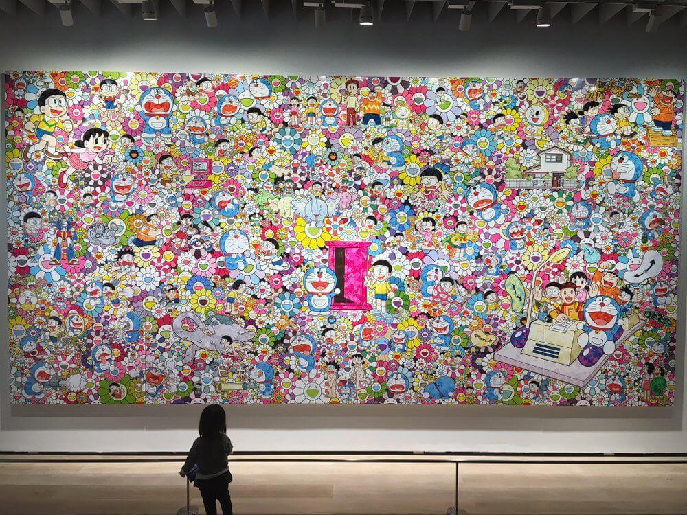 Doraemon gets a fine art makeover for a special exhibition