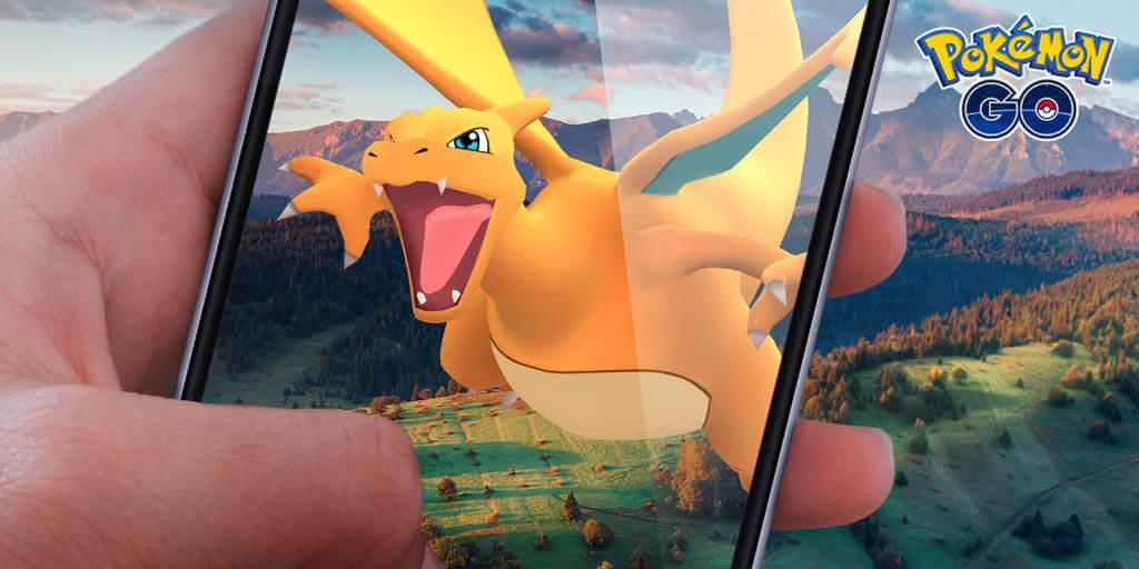Pokemon GO adds AR+ functionality