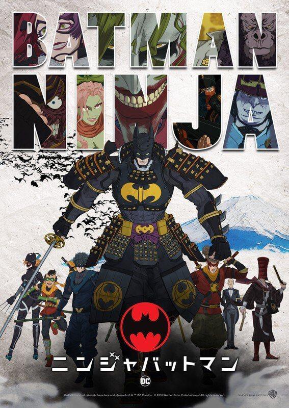 Batman Ninja anime reveals new trailer and additional cast