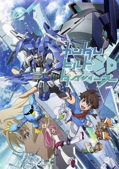 Sunrise announces latest Gundam series, Gundam Build Divers
